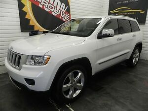2013 Jeep Grand Cherokee Overland *Toit*Gps*Camera*AC*Cuir*