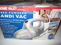 Home valet Turbo powered hand held handi vac DV-188