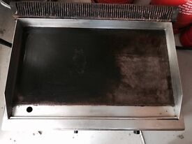 Heavy duty lpg gas griddle