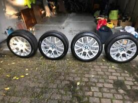 bmw 7/5gt (f01/f07) winter wheel and tyre set