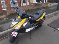 TGB R125X Sport Moped, 2014