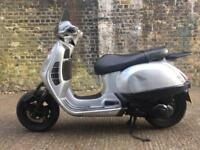 FULLY WORKING 2004 Vespa GT 125cc scooter 125 cc learner legal. Has MOT for 1 year.