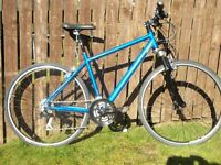 Dawes Discovery 401 ,hybrid/mountain bike lock out suspension serviced in excellent condition