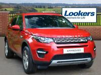 Land Rover Discovery Sport TD4 HSE (red) 2016-06-28