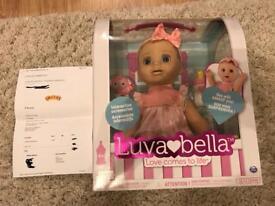 Luvabella Doll Blonde Hair 100% genuine