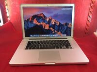 "Apple MacBook Pro A1286 15"" i7 Proces, 8GB Ram, 500GB HD, MC373, 2010 +WARRANTY, NO OFFERS L44"