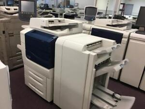 Xerox Production Printer Color 560 Digital Printer HIGH Quality SPEED Copier Scanner Fax Booklet Maker Low Page Count