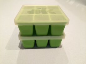 Annabel Karmel Silicone Food Cube Tray/Container with clip on lid x2, £5