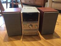 SONY HiFi with CD and Cassette Function