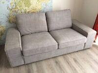 IKEA KIVIK Isunda grey sofa