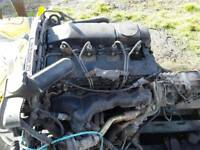 Ford transit engine and box