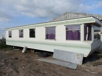 Static Caravan 10 x30/35 feet, 2 Bedroom
