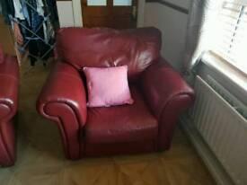 Leather suite 3 piece