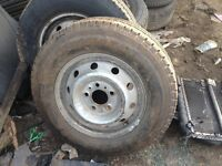 Set of 5 ldv maxie wheels