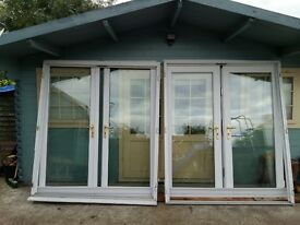 Two sets of large patio doors - MUST GO!