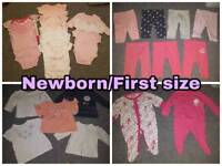 Baby girls clothes Newborn/0-3/3-6