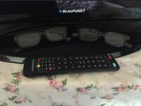 """Blaupunkt 42"""" 3D Tv"""