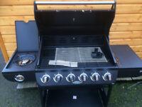 NIMBUS 6 BURNER GAS BBQ BRAND NEW EX HOMEBASE STOCK