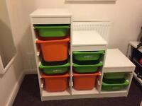 Ikea Trofast storage unit.