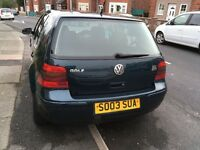 Golf GTI,excellent condition.new exhaust and Battery.
