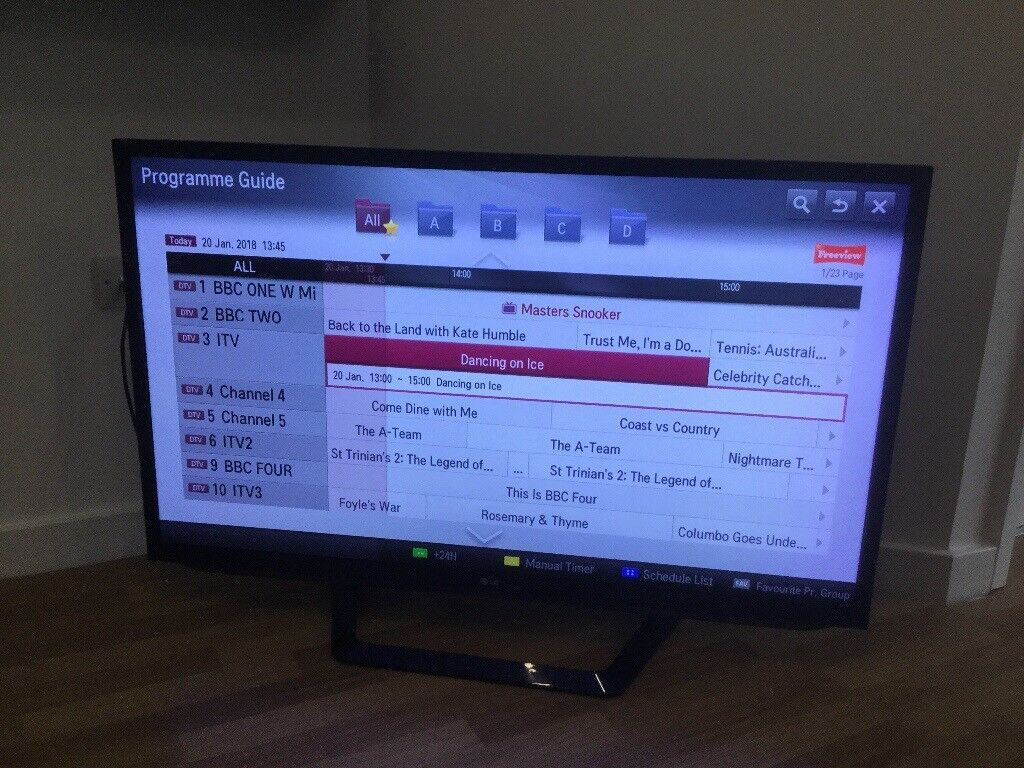Lg Tv No Program Guide