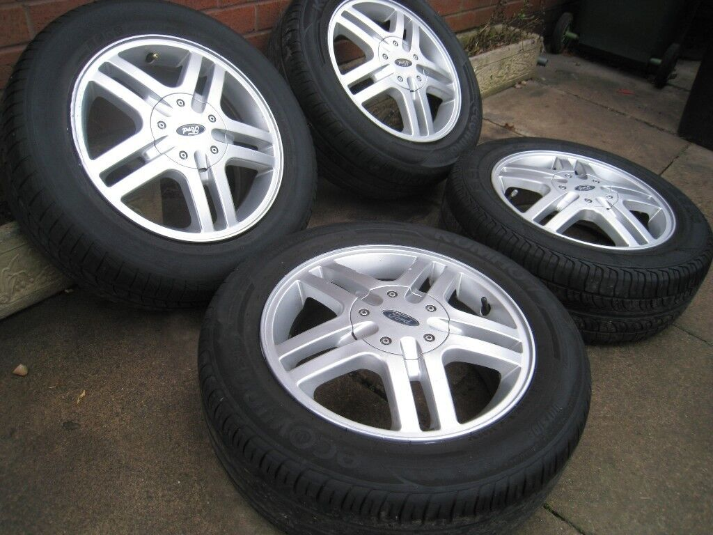 Ford Focus Zetec Alloy Wheels Pcd  Mm  Stud Ka Puma Fiesta Escort Fusion Mondeo