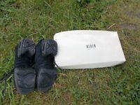 Bloch black dance shoes/trainers size 3