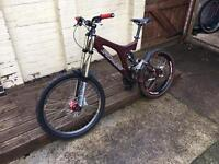 Specialized Big Hit Downhill Freeride Bike Full Suspension