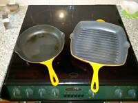 Cast Iron Pans (Le Cruset)