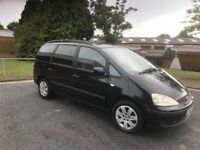 2002 Ford galaxy 1.9 tdi 7 seater 12 months mot/3 months parts and labour warranty