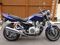 Yamaha xjr1300, blue,2005