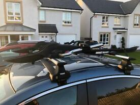 Cycle roof racks x2