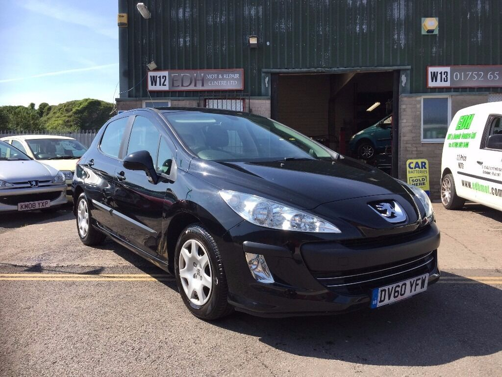 Peugeot 308 1.6 Hdi S 2010 60 plate only 70000 miles with full service history, superb condition!