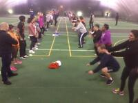 ** 4 week free indoor bootcamp classes for all ages **