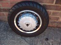 Lambretta SIP tubeless wheel and rear hub