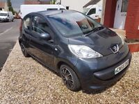 Peugeot 107 1.0 Urban 3dr, 2006, LOW TAX 20£ PER YEAR, LOW MILLAGE, LADY OWNER, LOVELY FIRST CAR.