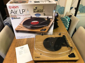 Ion Air LP Bluetooth Turntable/Record Player