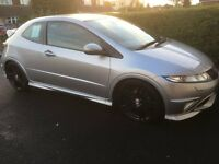 Honda civic type r 2009 GT with rage alloys