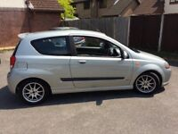 Chevrolet kalos 1.4 sport 3dr long MOT FSH 4 new tyres cheap to run and insure great first car