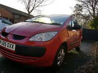 2005 mitsubishi colt 1.1 low mileage cheap 1st car
