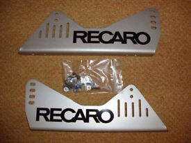 Recaro Side Mounts - Brand New, for two seats, Pole Position Race Track Rally FIA