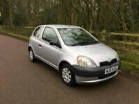 TOYOTA YARIS 1.0L T3 15SERVICES MOT TILL30/10/2018 3LADY OWNERS HPI CLEAR EXCELLENT CONDITION