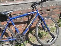 3 gents fully working work bikes job lot £40 the three plus ladies raleigh[repairs needed