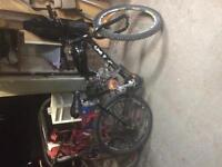Bicycle with gas motor