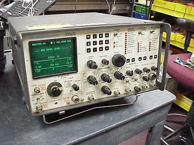 Motorola R-2001d Communications Service Monitor-tested And Calibrated