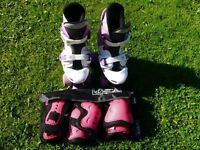 Osprey Quad Skates and SFR pads