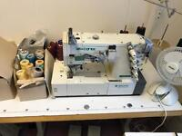 Hard to find & New zoje industrial coverstitch/coverseam sewing machine