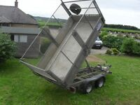 2011 ifor williams tt105 tipper in excellent condition