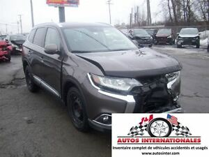 2016 Mitsubishi Outlander GT AWD 4X4 V6 3.0 7 PASSAGERS ROUE ET