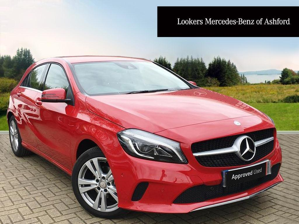 mercedes benz a class a 180 d sport premium red 2017 04 06 in ashford kent gumtree. Black Bedroom Furniture Sets. Home Design Ideas